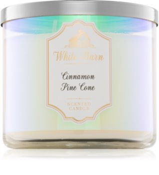 Bath & Body Works Cinnamon Pine Cone vonná sviečka 411 g