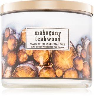 Bath & Body Works Mahogany Teakwood Geurkaars 411 gr I.