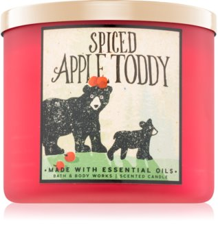 Bath & Body Works Spiced Apple Toddy Duftkerze  411 g I.
