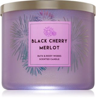 Bath & Body Works Black Cherry Merlot Duftkerze  411 g
