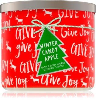 Bath & Body Works Winter Candy Apple vonná svíčka 411 g