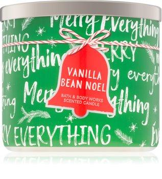 Bath & Body Works Vanilla Bean Noel bougie parfumée 411 g I.