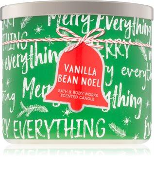 Bath & Body Works Vanilla Bean Noel vonná sviečka I.