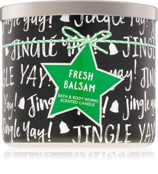 Bath & Body Works Fresh Balsam duftkerze  IV. 411 g