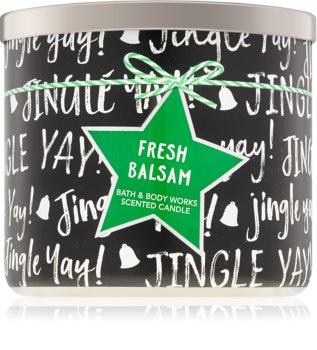 Bath & Body Works Fresh Balsam vonná svíčka IV. 411 g