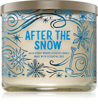 Bath & Body Works After The Snow bougie parfumée 411 g