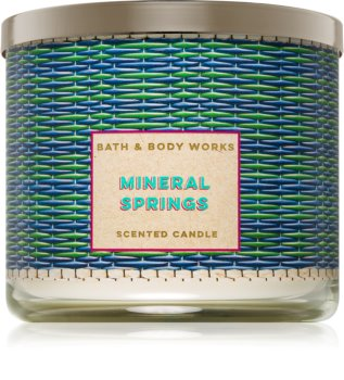 Bath & Body Works Mineral Springs bougie parfumée 411 g