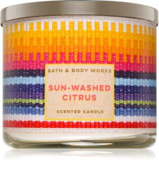 Bath & Body Works Sun-Washed Citrus vonná svíčka 411 g