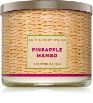 Bath & Body Works Pineapple Mango dišeča sveča