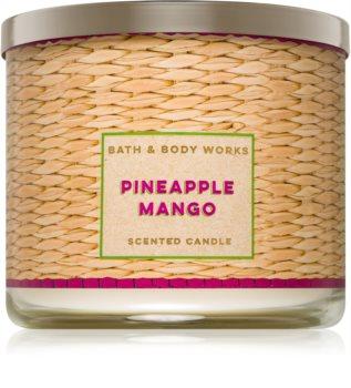 Bath & Body Works Pineapple Mango illatos gyertya  411 g