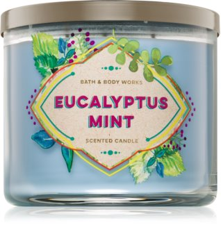 Bath & Body Works Eucalyptus Mint scented candle