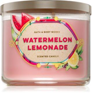 Bath & Body Works Watermelon Lemonade vonná svíčka 411 g
