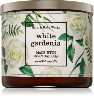 Bath & Body Works White Gardenia bougie parfumée 411 g