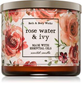 Bath & Body Works Rose Water & Ivy świeczka zapachowa  411 g