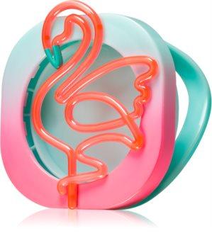 Bath & Body Works Neon Flamingo Auto-Dufthalter   zum Aufhängen