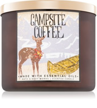 Bath & Body Works Campsite Coffee Duftkerze  411 g