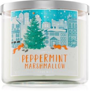 Bath & Body Works Peppermint Marshmallow świeczka zapachowa  411 g