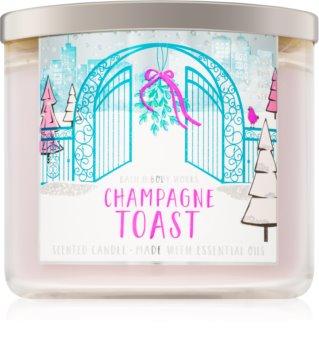 Bath & Body Works Champagne Toast vonná sviečka 411 g III.