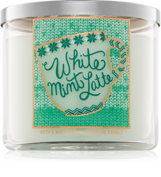 Bath & Body Works White Mint Latte Scented Candle 411 g I.