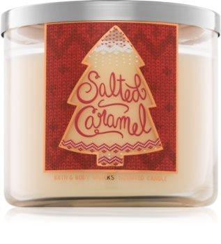 Bath & Body Works Salted Caramel lumânare parfumată  411 g