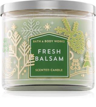 Bath & Body Works Fresh Balsam duftkerze  III. 411 g