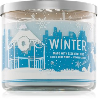 Bath & Body Works Winter vonná sviečka 411 g II.
