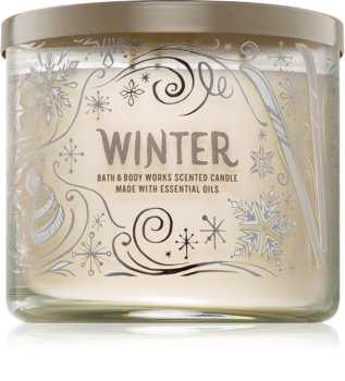 Bath & Body Works Winter Duftkerze  411 g