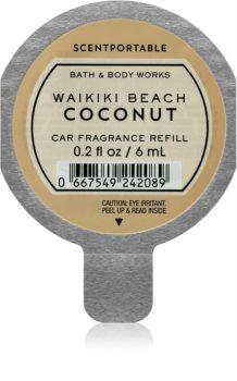 Bath & Body Works Waikiki Beach Coconut vůně do auta 6 ml náhradní náplň