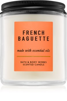 Bath & Body Works French Baguette scented candle I.