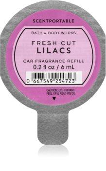 Bath & Body Works Fresh Cut Lilacs autoduft Ersatzfüllung 6 ml