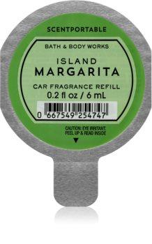 Bath & Body Works Island Margarita Άρωμα για αυτοκίνητο 6 μλ ανταλλακτική γέμιση