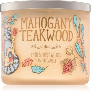 Bath & Body Works Mahogany Teakwood dišeča sveča  IV. 411 g