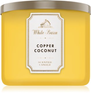 Bath & Body Works Copper Coconut bougie parfumée I. 411 g