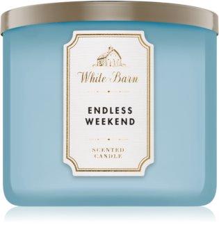 Bath & Body Works Endless Weekend bougie parfumée 411 g