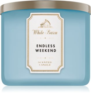 Bath & Body Works Endless Weekend bougie parfumée