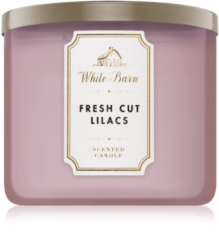 Bath & Body Works Fresh Cut Lilacs scented candle I.