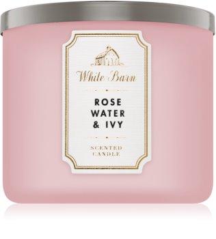 Bath & Body Works Rose Water & Ivy bougie parfumée I.