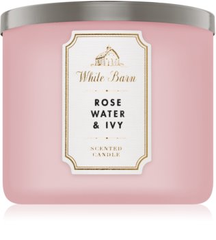 Bath & Body Works Rose Water & Ivy Duftkerze  411 g I.