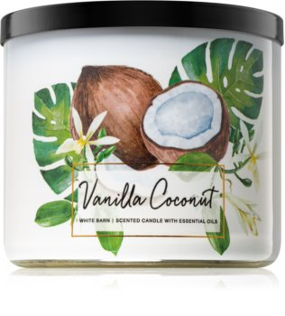 Bath & Body Works Vanilla Coconut Scented Candle 411 g