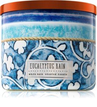 Bath & Body Works Eucalyptus Rain vonná svíčka 411 g