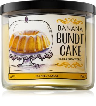 Bath & Body Works Banana Bundt Cake Duftkerze  411 g