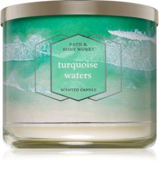 Bath & Body Works Turquoise Waters bougie parfumée I. 411 g