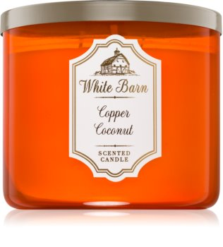 Bath & Body Works Copper Coconut vonná svíčka 411 g