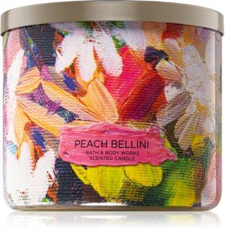 Bath & Body Works Peach Bellini bougie parfumée I. 411 g