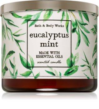 Bath & Body Works Eucalyptus Mint illatos gyertya  411 g I.