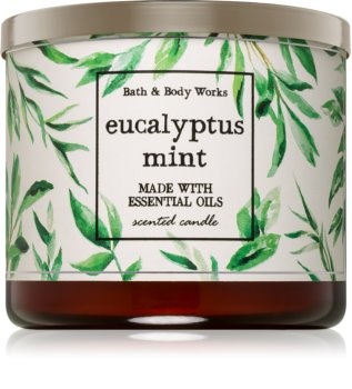 Bath & Body Works Eucalyptus Mint Scented Candle 411 g I.