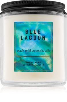 Bath & Body Works Blue Lagoon vonná svíčka 198 g