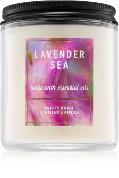 Bath & Body Works Lavender Sea bougie parfumée 198 g