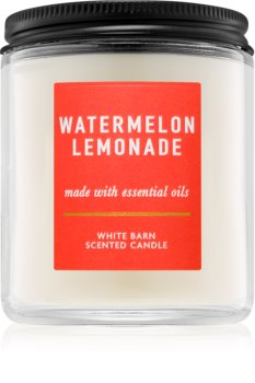 Bath & Body Works Watermelon Lemonade vonná svíčka III. 198 g