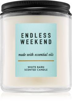 Bath & Body Works Endless Weekend bougie parfumée I.